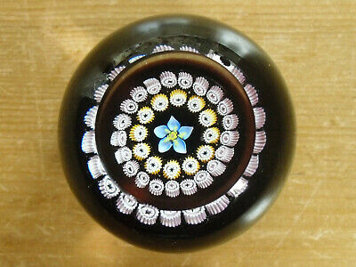 "Caithness ""Miniature Forget Me Not"" Paperweight - >2 1/8""(5.5cms)"