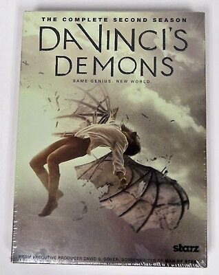 Da Vinci's Demons: The Complete 2nd Season -- DVD -- Brand New -- Free Shipping