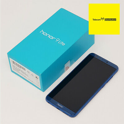 """Huawei Honor 9 Lite (4G) 5.65"""" - Blue - (DS) Sim Free - New Condition - Unlocked"""