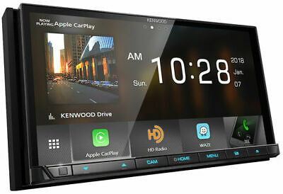 Kenwood DDX9705S 2 DIN DVD Receiver GPS Navigation Apple CarPlay & Android Auto