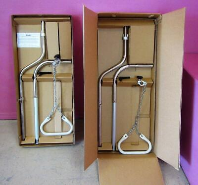 2 Mizuhosi OSI #3423-2 Patient Helper Bar Upright Assembly Trapeze Frame Handle