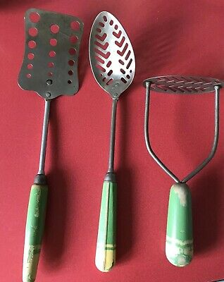 Vintage 1940's Skyline Kitchen Utensils
