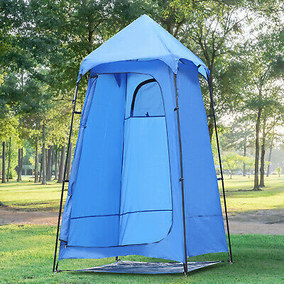 Portable Camping Shower Tent Privacy Bathing Shelter Beach Toilet