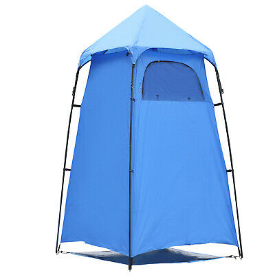 Portable Camping Shower Tent Travel Changing Room Beach Toilet w/ Carry Bag