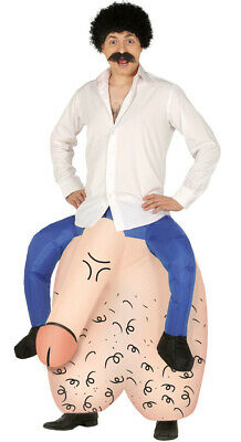 Giant Inflatable Testicles & Penis Fancy Dress Costume Stag Hen Night Funny Joke