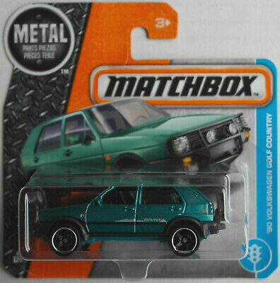 Matchbox 1990 VW Volkswagen Golf Country petrolmetallic Neu/OVP Allrad Syncro 90