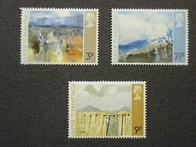 Ulster 1971 Paintings Sg. 881/883 Mnh Set