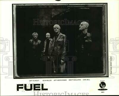 Press Photo Four Members of the band Fuel - sap03929