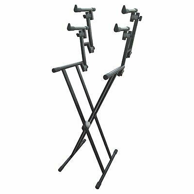 Artist KS026 Heavy Duty Triple 3 Tier Keyboard Stand (Double Braced)
