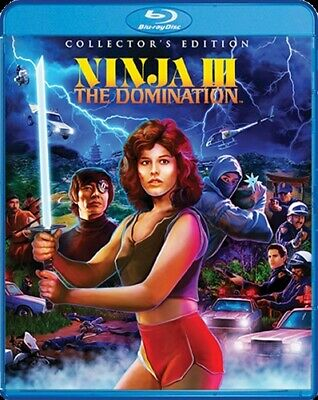 NINJA III 3 THE DOMINATION Blu-ray Collector's Edition Sequel to Enter the Ninja