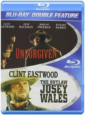UNFORGIVEN + THE OUTLAW JOSEY WALES New Blu-ray Double Feature Clint Eastwood