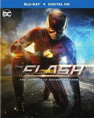THE FLASH 2014 TV SERIES THE COMPLETE SECOND SEASON 2 New Sealed Blu-ray