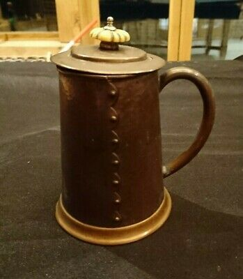 Arts And Crafts Copper Tankard
