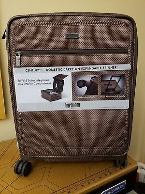 65bbce676284 HARTMANN CENTURY DOMESTIC Carry On Expandable Spinner Ss Carry-On ...