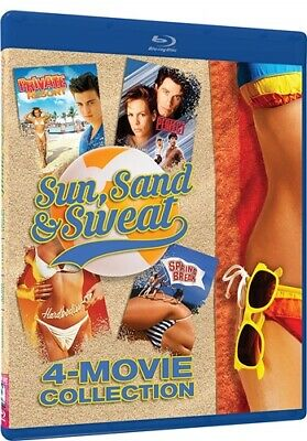 SUN SWEAT SAND 4 MOVIE COLLECTION New Blu-ray Private Resort Hardbodies Perfect