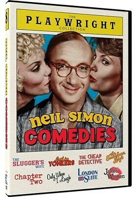 NEIL SIMON COMEDIES THE PLAYWRIGHT COLLECTION New DVD 8 Films