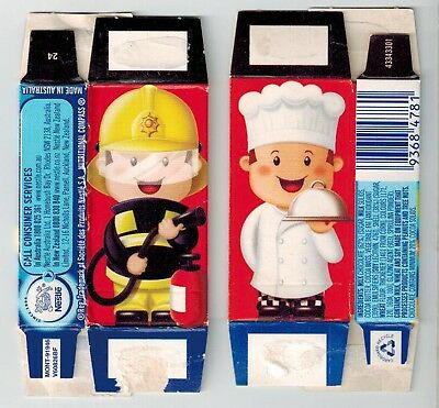 Nestles Smarties - Collectable Mini Packets - Cook and Fireman