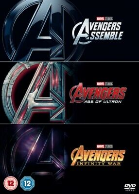 Avengers: 3-movie Collection *NEW* DVD