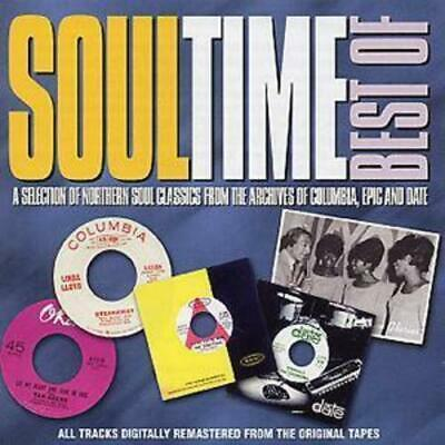 Various Artists : Soul Time: Best Of CD 2 discs (2002) FREE Shipping, Save £s