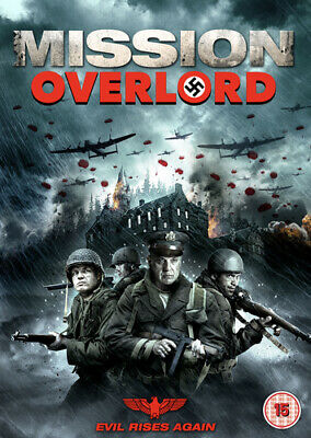 Mission Overlord DVD (2019) Tom Sizemore ***NEW***