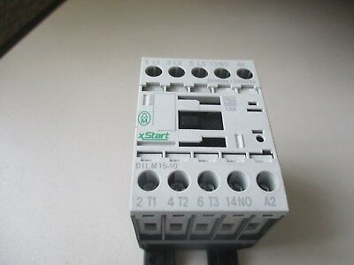MOELLER DILM15-10 Contactor 7.5kW (AC3) 230V/50-240V/60 Coil, 1 x NO Aux Contact