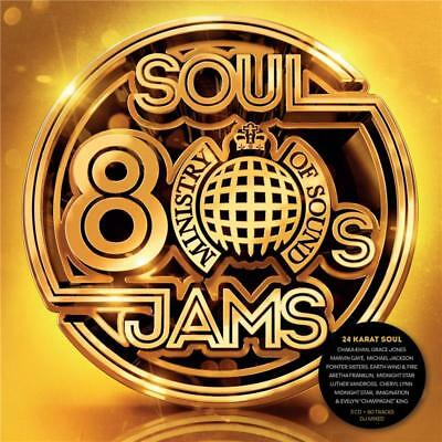 MINISTRY OF SOUND 80s SOUL JAMS (VARIOUS ARTISTS) 3 CD DIGIPAK - NEW