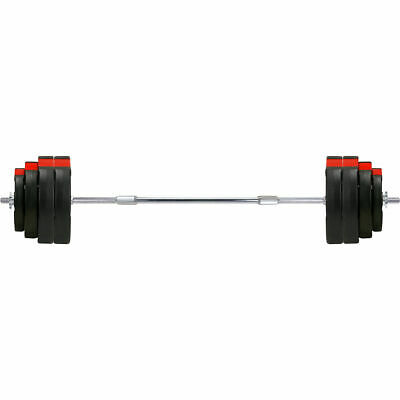 Tri-Grip Barbell Set 60KG Weight Plate Set Tricep Bicep Weights Sets Bars Bar