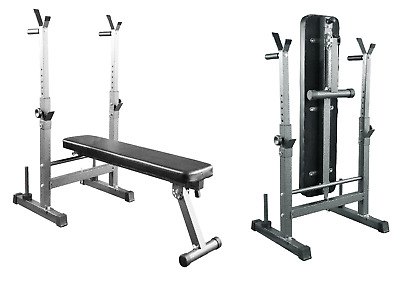 Weight Bench Folding Adjustable Weight Training Bench Dip Station