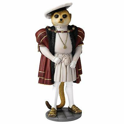 Country Artists Magnificent Meerkats Henry VIII Figurine BRAND NEW - UK Seller
