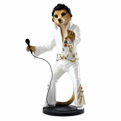 Country Artists Magnificent Meerkats Elvy Elvis Figurine BRAND NEW - UK Seller