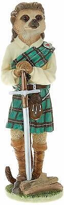 Country Artists Magnificent Meerkats William Wallace Figure BRAND NEW UK Seller