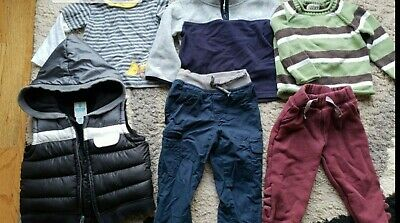 Boys Toddler Clothes Size 18 months Bundle Pants Tops Sweater See Variations