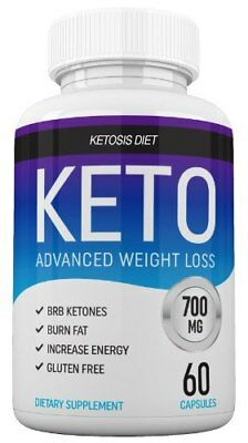 Keto - Weight Loss Ketogenic Diet Supplement 60 Capsules