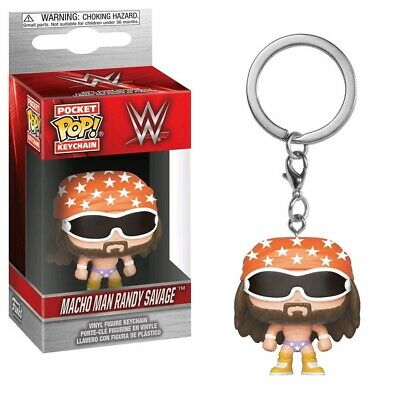 WWE - Macho Man Randy Savage Pocket Pop! Keychain - Loot - BRAND NEW