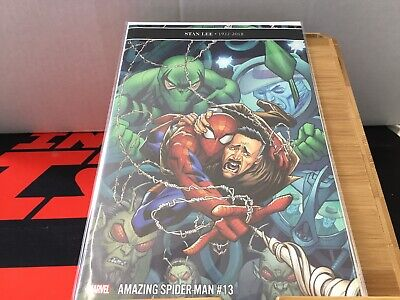 The Amazing Spider-Man #13 | LGY #814 | Stan Lee Tribute | 1st Printing