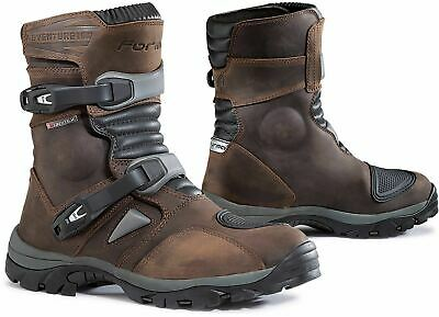 Forma Adventure Low Brown Adventure ADV Touring Motorcycle Boots - Free Shipping