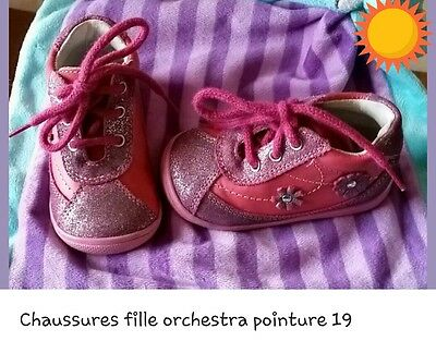 08601a6a09e55 CHAUSSURES FILLE POINTURE 19 orchestra - EUR 15