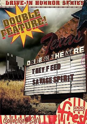 Drive-In Horror Series Boxset (DVD, 2007, Double Feature)