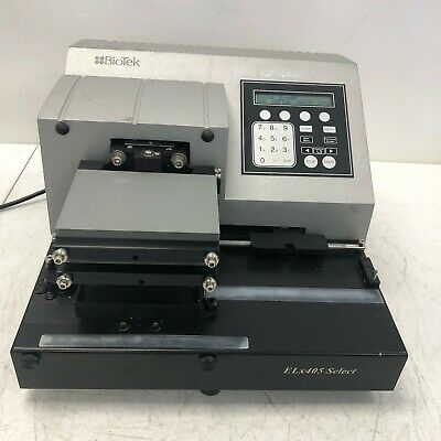 AB Bio-Tek Biotek ELx405 Select Instruments Microplate Washer ELX405RS TESTED
