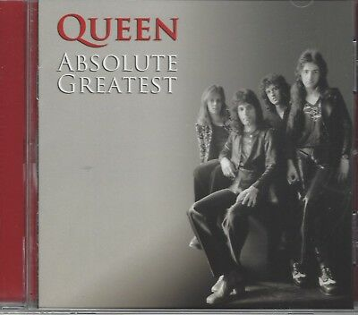 QUEEN Absolute Greatest NEW & SEALED CD Hits BEST OF Hollywood Records 20 Tracks