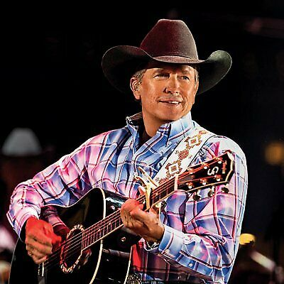 George Strait 11-23 Fort Worth Dickies Arena Concert Sec 124 Row 3 Two Tickets