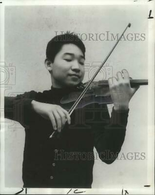 1972 Press Photo Kim Young Keun violinist to be at First Assembly of God Church