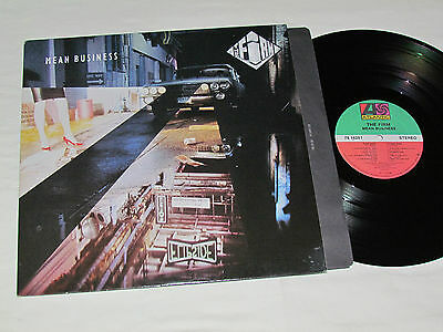 THE FIRM Mean Business LP 1986 Atlantic Records Canada Vinyl VG+/VG+ JIMMY PAGE