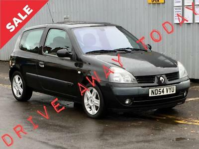 2004 RENAULT CLIO 1.4 16V Dynamique 3dr ready to go SALE PRICE