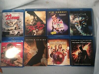 Lot of 41 Blu-ray Movies - Excellent! - Free Shipping! Instant library