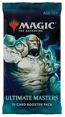 Magic The Gathering Ultimate Masters Booster Pack Sealed MTG (15 Cards per pack)