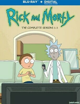 Rick And Morty: The Complete Seasons 1-3 [New Blu-ray] 3 Pack, Ac-3/Dolby Digi