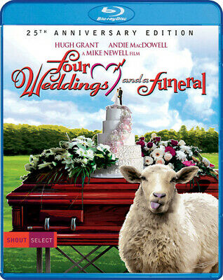 Four Weddings And A Funeral (25th Anniversary Edition) [New Blu-ray] Anniversa