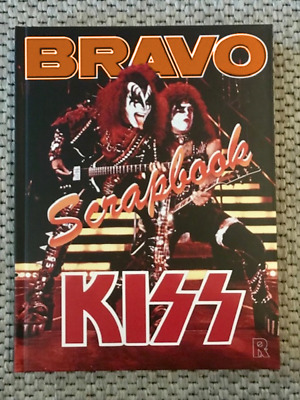 BRAVO Scrapbook - KISS - A4 hard cover - 232 pages colour - - -