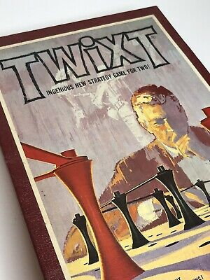 TWIXT Vintage 1962 Bookshelf Board Game by 3M   Strategy Game for 2